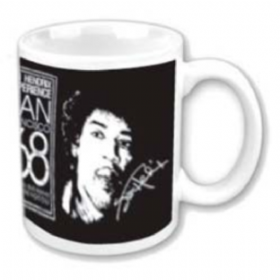 JIMI HENDRIX SAN FRANCISCO 68 - MUG (11oz) (Brand New In Box)